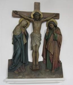 Kirche St. Katharina 12. Station Jesus stirbt am Kreuz 041