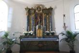 Altar mit Palmen